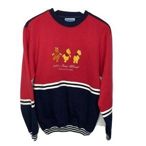 Disney POOH Vintage 90s 100 Acre Wood Sweatshirt